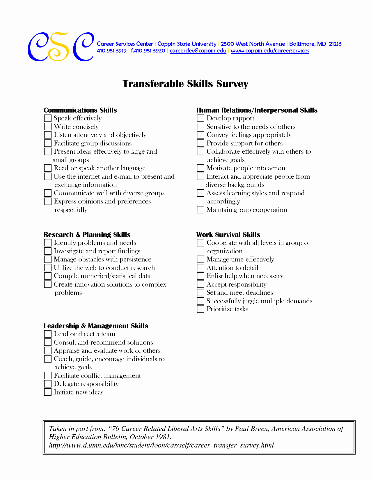 Job Skills Worksheets New 17 Best Of Career Skills Worksheets Job Skills