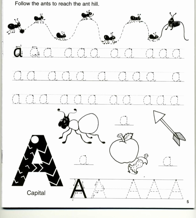 Jolly Phonics Worksheets for Kindergarten Beautiful Jolly Phonics Workbook 1