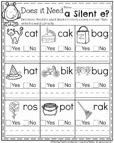 Jolly Phonics Worksheets for Kindergarten Elegant Jolly Phonics Worksheets for Kindergarten Silent Letter
