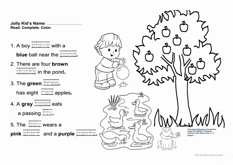 Jolly Phonics Worksheets for Kindergarten Fresh Free Printable Phonics Books for Kindergarten