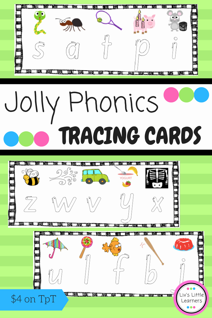 Jolly Phonics Worksheets for Kindergarten Luxury Jolly Phonics Letter Tracing English Activity