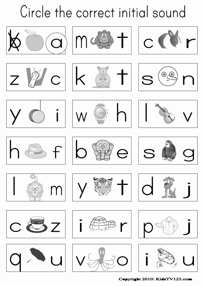 Jolly Phonics Worksheets for Kindergarten Luxury Jolly Phonics Worksheets Free Printable
