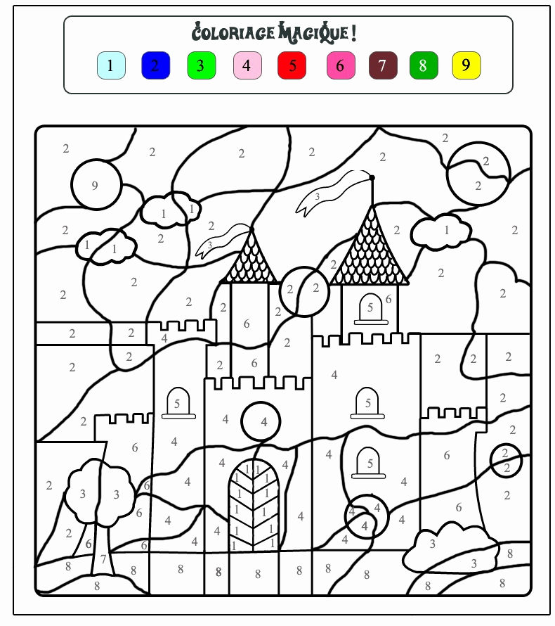 Kindergarten Color by Number Worksheets Unique Crafts Actvities and Worksheets for Preschool toddler and
