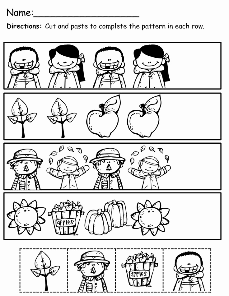 Kindergarten Cut and Paste Worksheets Beautiful Crafts Actvities and Worksheets for Preschool toddler and