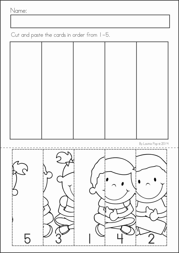 Kindergarten Cut and Paste Worksheets Fresh Back to School Math & Literacy Worksheets and Activities
