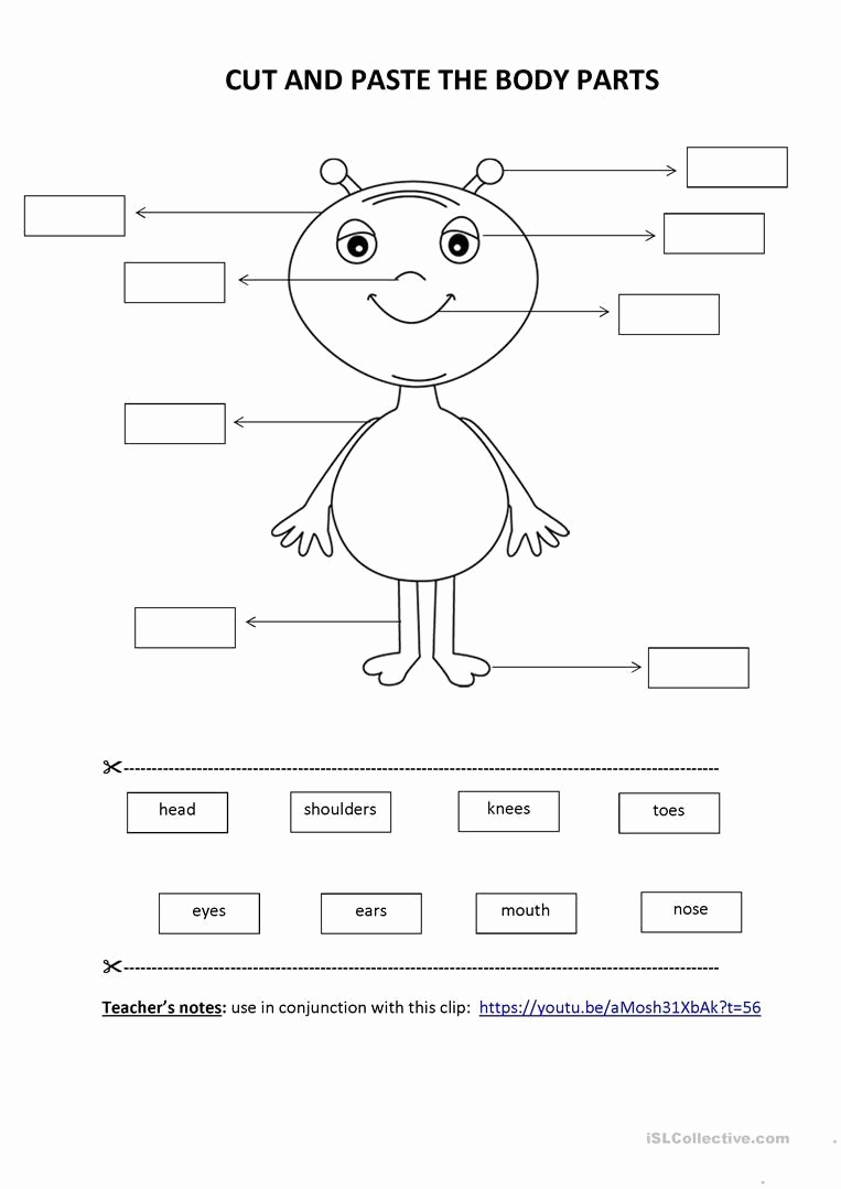 Kindergarten Cut and Paste Worksheets Inspirational Pin On Printable Worksheet for Kindergarten