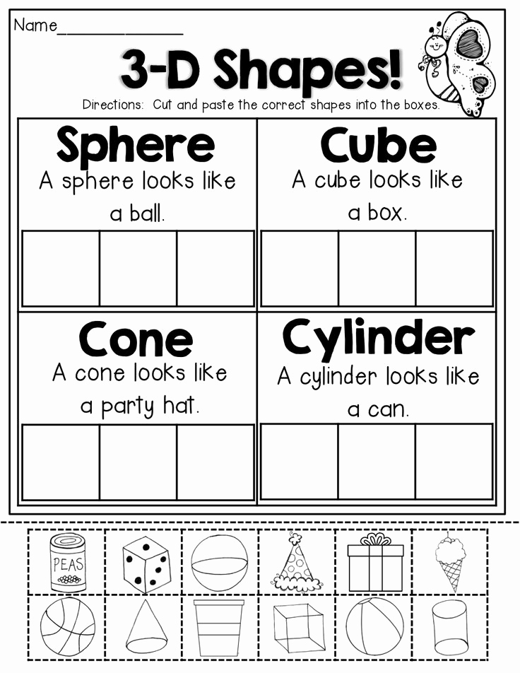 Kindergarten Cut and Paste Worksheets Lovely 16 Best Of Cut and Paste Cvc Worksheets for