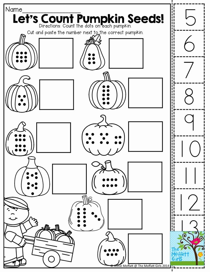 Kindergarten Cut and Paste Worksheets New 9 Best Of Cut and Paste Printables Spring Cut and