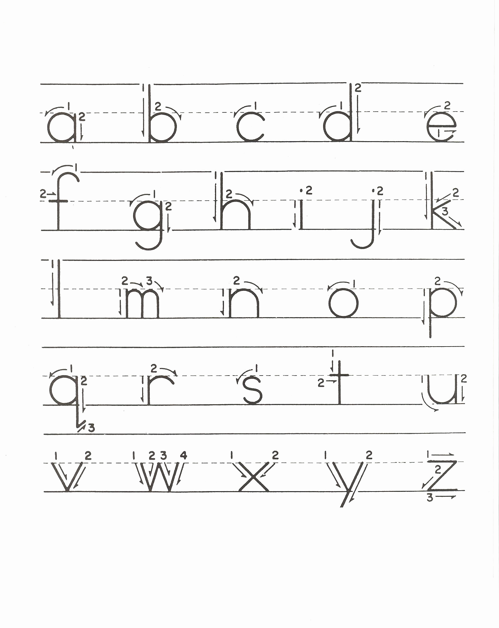 Kindergarten Lowercase Letters Worksheets Inspirational Lower Case Alphabet Tracing Learning Kiddo Shelter