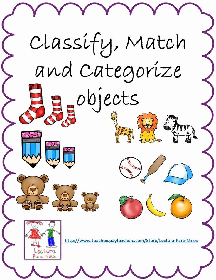 Kindergarten Math sorting Worksheets Best Of Pin On Lectura Para Niños Tpt Spanish Reading Materials