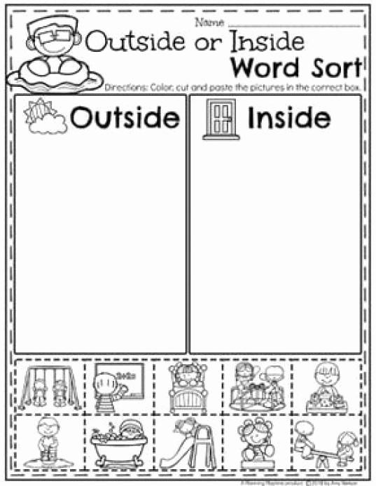 Kindergarten Math sorting Worksheets Elegant Kindergarten Math Worksheets Measurement and Data