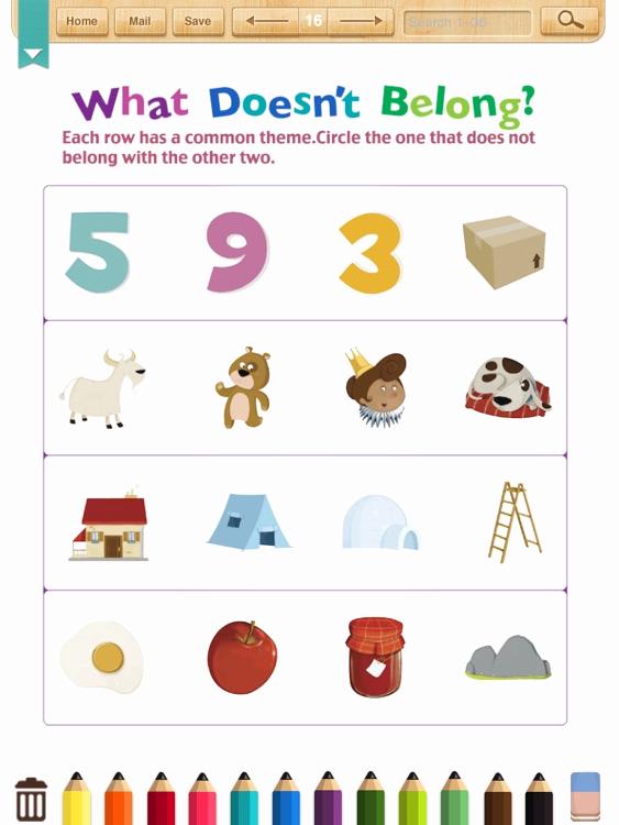 Kindergarten Math sorting Worksheets Inspirational Kids Math sort&classify Worksheets Kindergarten by Shixian Li