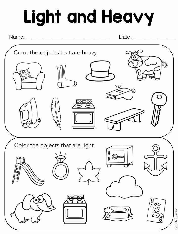 Kindergarten Math sorting Worksheets Luxury 6 Kindergarten Math Worksheets