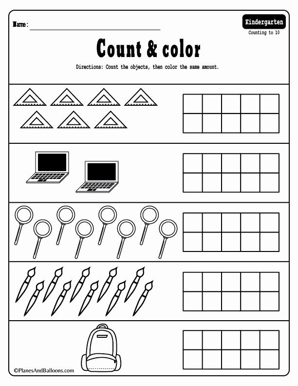 Kindergarten Math Worksheet Pdf Awesome 15 Kindergarten Math Worksheets Pdf Files to for
