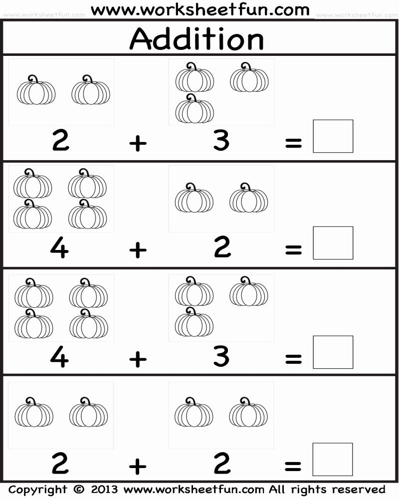 Kindergarten Math Worksheet Pdf Luxury Addition Worksheet for Kindergarten Pdf