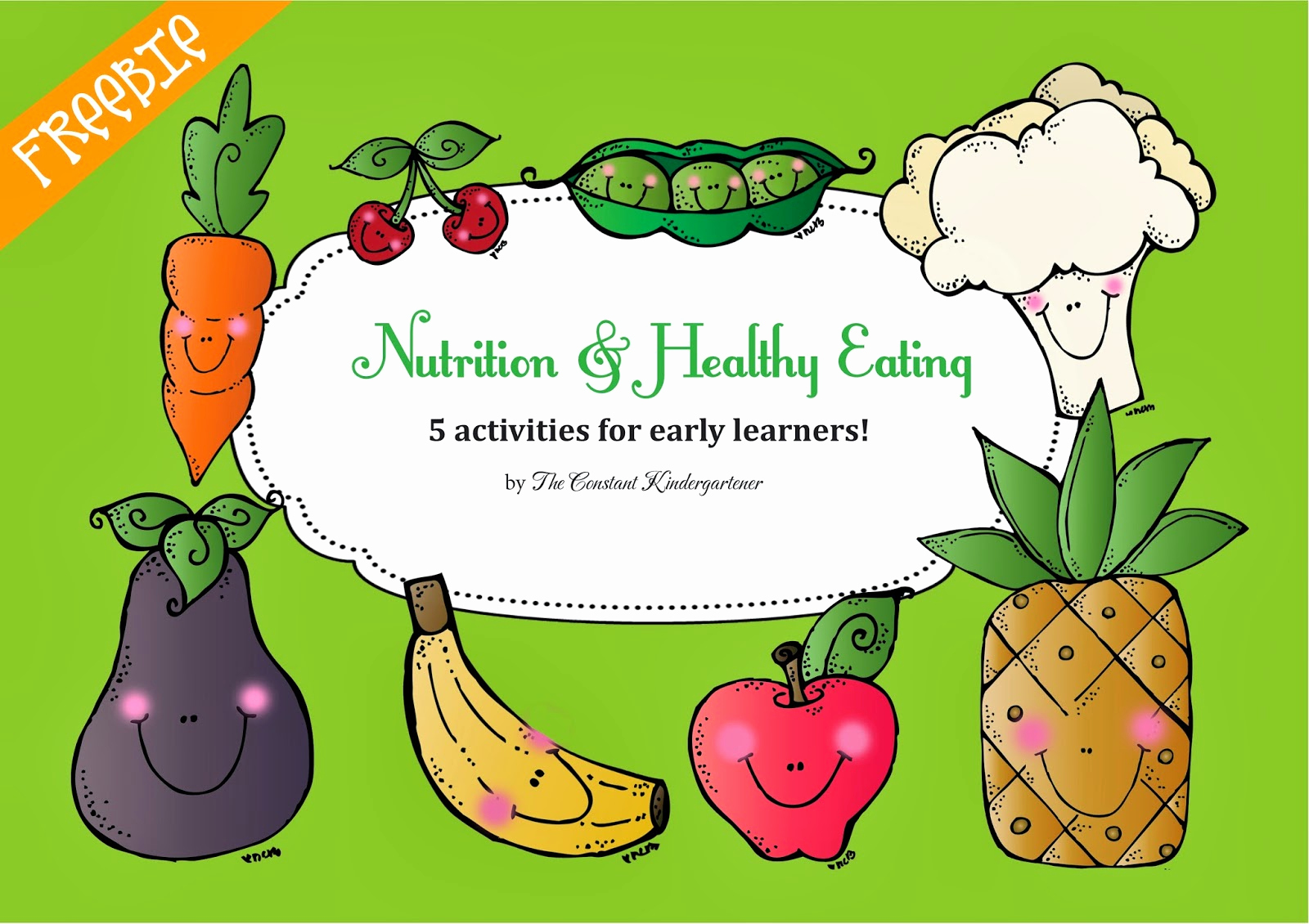 Kindergarten Nutrition Worksheets Luxury the Constant Kindergartener Teaching Ideas and Resources