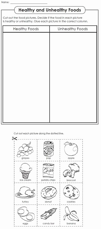 Kindergarten Nutrition Worksheets New Kindergarten Nutrition Worksheets Super Teacher Worksheets