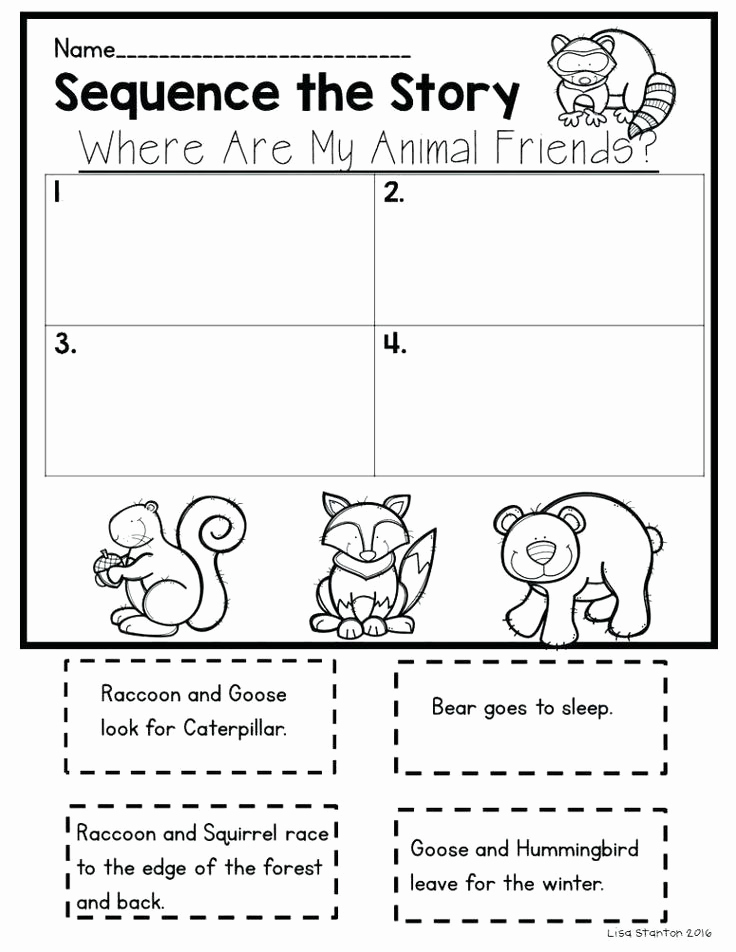 Kindergarten Sequence Worksheets Fresh Sequence Worksheets Kindergarten Sequencing Worksheets for
