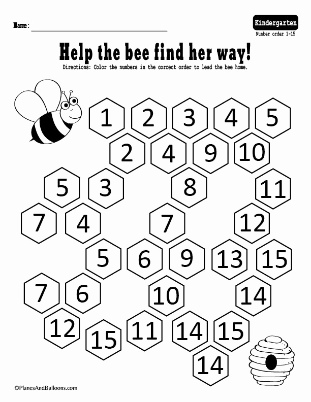 Kindergarten Sequence Worksheets Unique Number Sequence Worksheets for Kindergarten [fast & Free