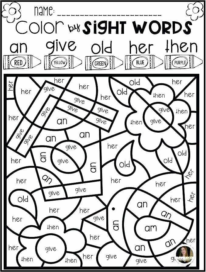 Kindergarten Sight Word Coloring Worksheets Inspirational Sight Word Coloring Sheets Sight Word Coloring Pages Grade
