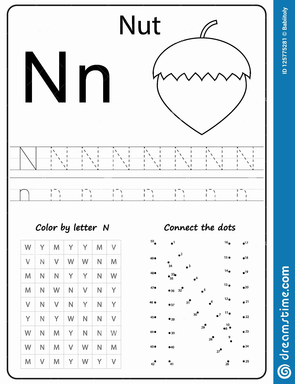 Letter N Worksheets for Kindergarten Best Of Letter N Worksheets for Kindergarten