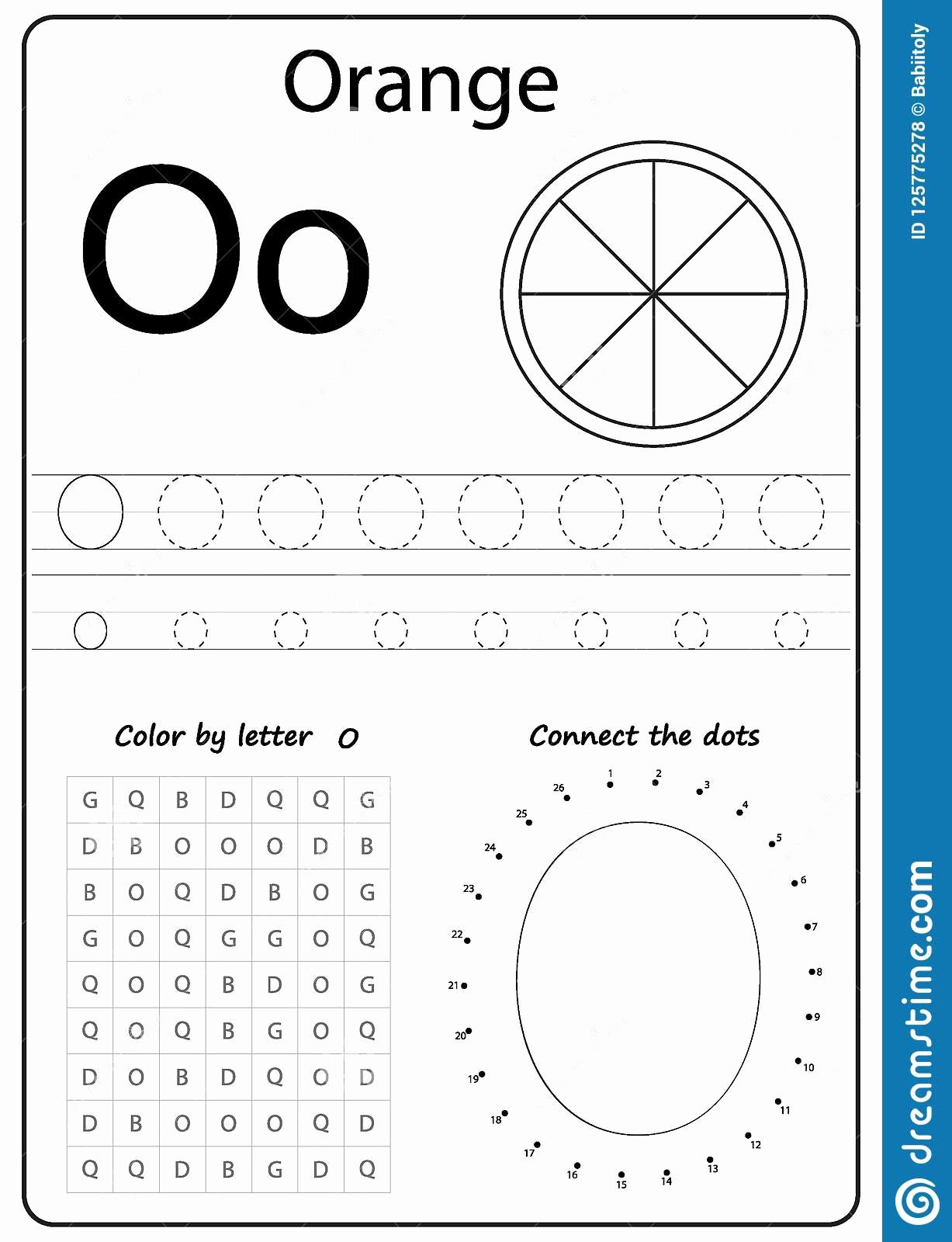 Letter O Worksheet for Kindergarten Best Of Preschool Letter O Worksheets for Kindergarten Preschool