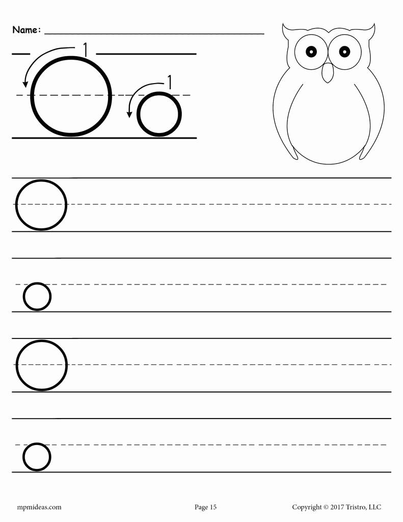 Letter O Worksheet for Kindergarten Fresh Letter O Worksheets for Preschool Preschool Worksheet