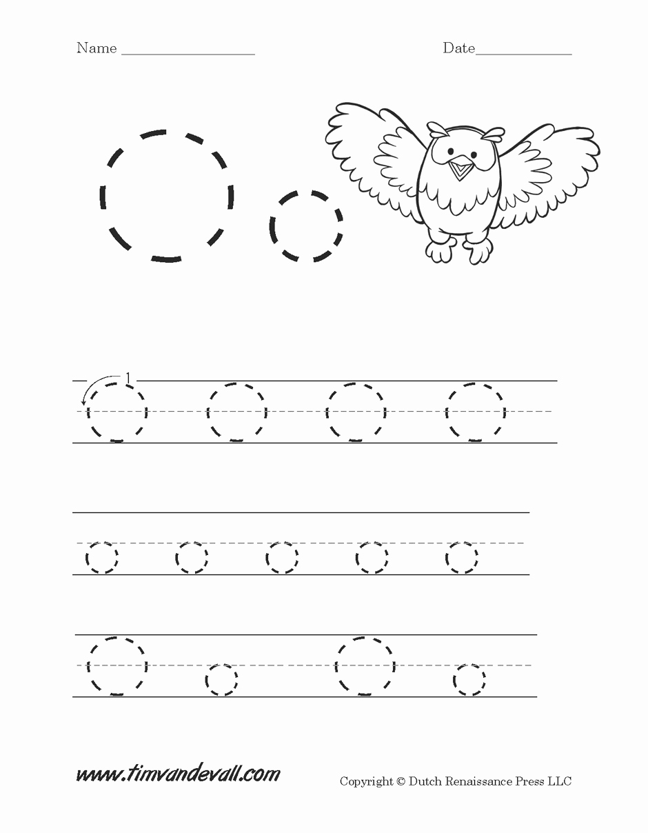 Letter O Worksheet for Kindergarten Unique Letter O Worksheet Tim S Printables