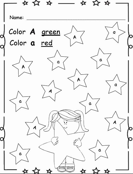 Letter Recognition Worksheets for Kindergarten Awesome Letter Recognition & Identification Kindergarten