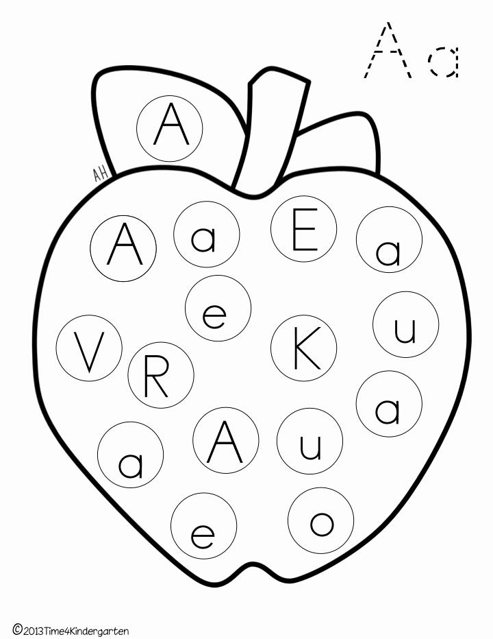 Letter Recognition Worksheets for Kindergarten Beautiful Time 4 Kindergarten Learning Our Letters