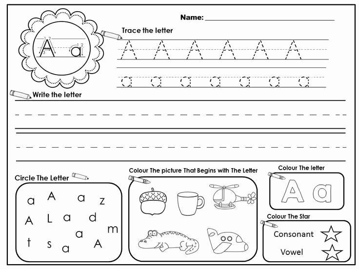 Letter Recognition Worksheets for Kindergarten Fresh 16 Best Of Letter Recognition assessment Worksheet