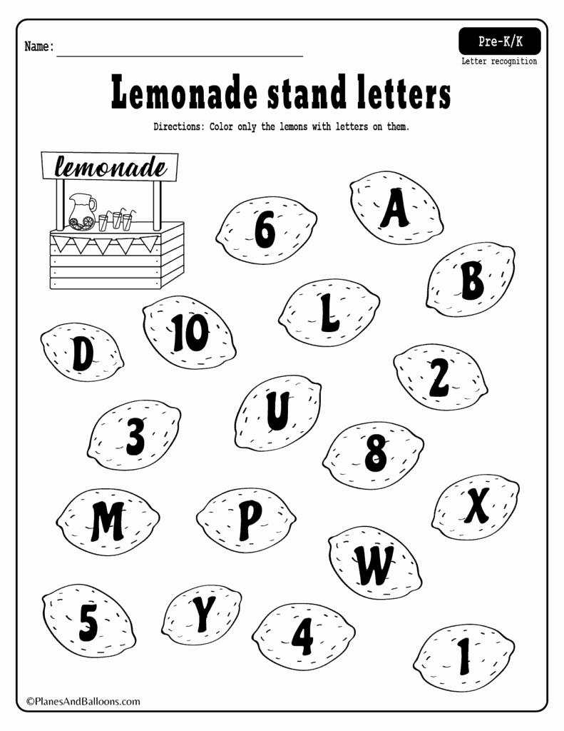 Letter Recognition Worksheets for Kindergarten Luxury Kindergarten Letter Recognition Worksheets