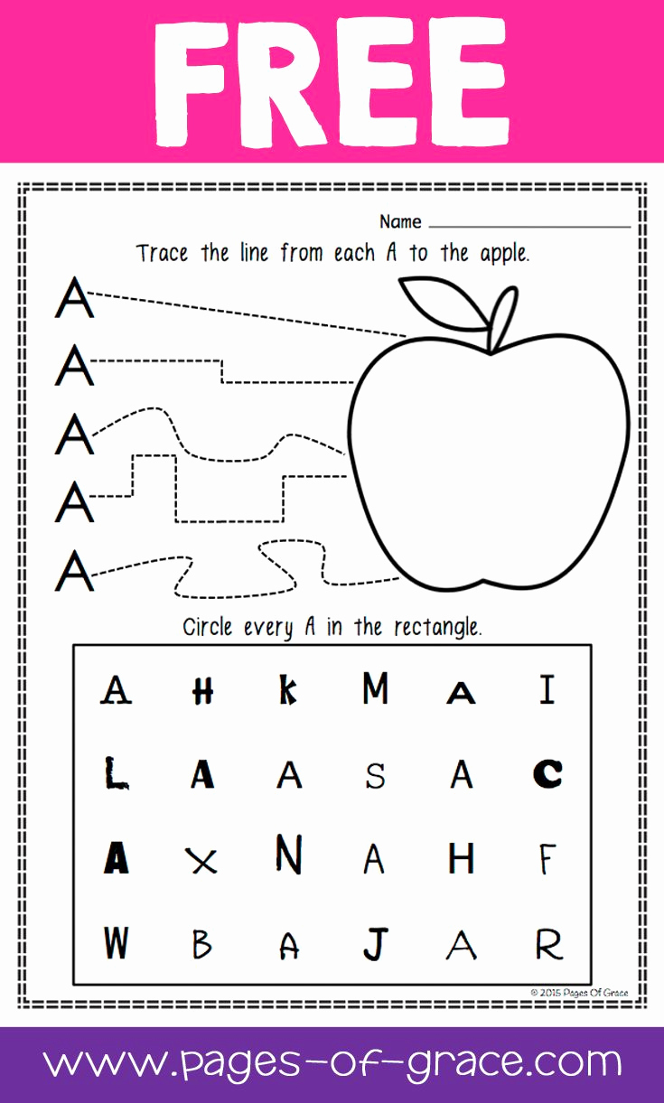 Letter Recognition Worksheets for Kindergarten New are You Looking for some Great Activities for Teaching