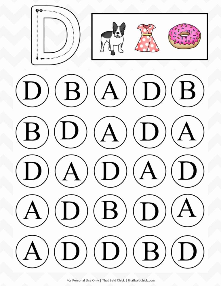Letter Recognition Worksheets for Kindergarten Unique 17 Letter Recognition Worksheets for Kids