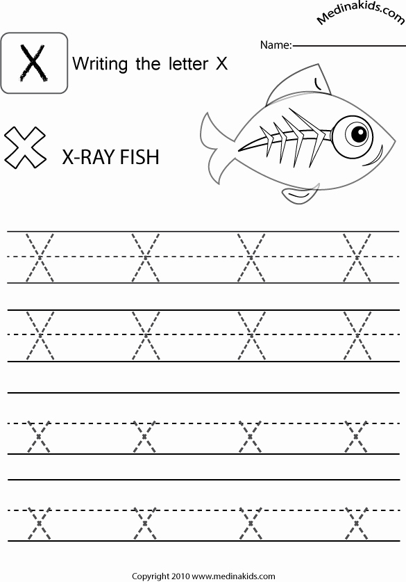 Letter X Worksheets for Kindergarten Best Of Kindergarten Activities for Letter X – Kinder Ausmalbilder