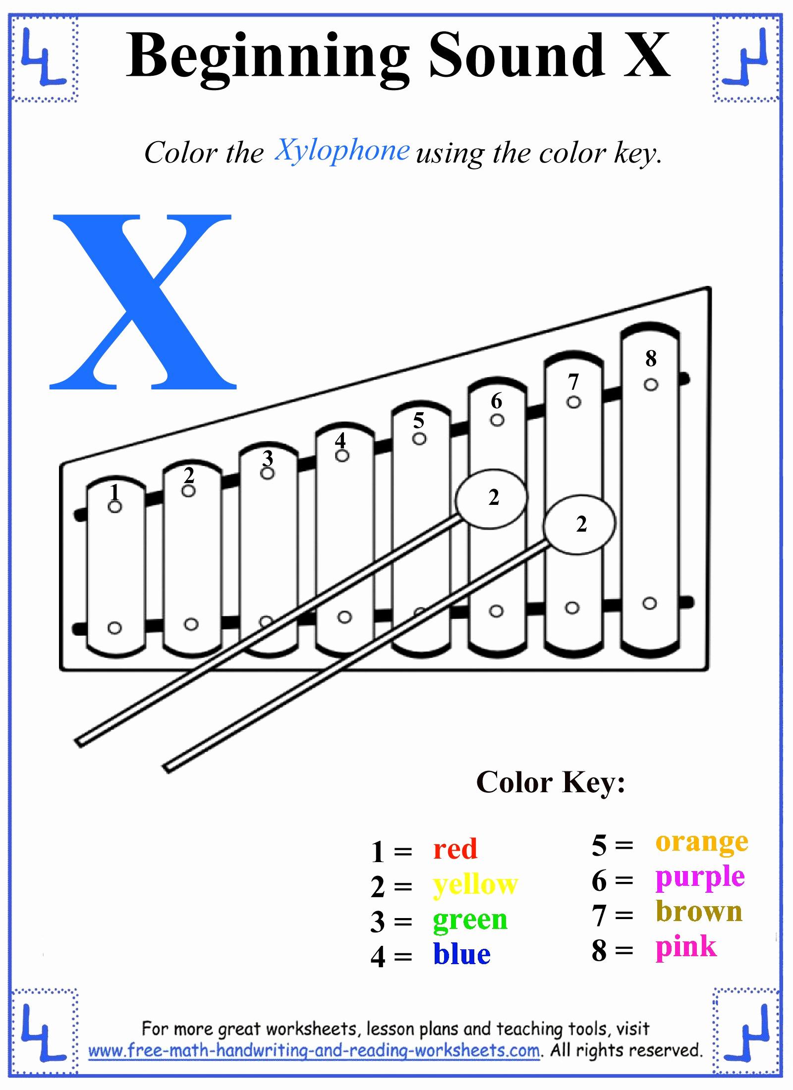 Letter X Worksheets for Kindergarten Elegant X Letter Worksheets