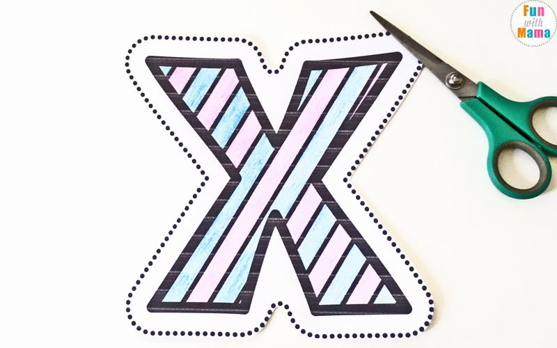 Letter X Worksheets Kindergarten Inspirational Letter X Worksheets for Preschool Kindergarten Fun