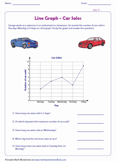 Line Graph Worksheet 5th Grade New Line Plot 5th Grade Grade 5 Data and Graphs Overviewline
