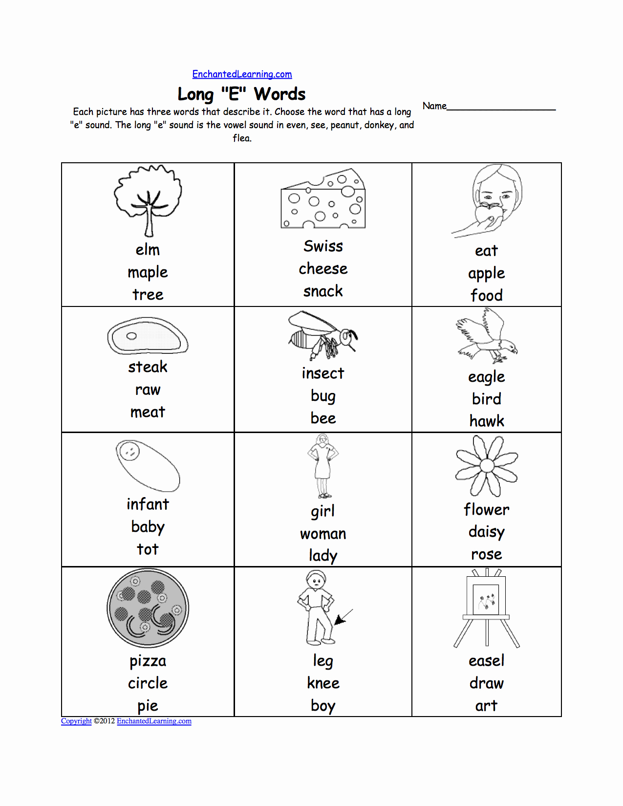 Long E Short E Worksheets Beautiful 15 Best Of Short E Phonics Worksheets Long E