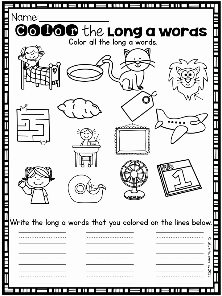 Long Vowel Silent E Worksheet Elegant Long Vowels Silent E