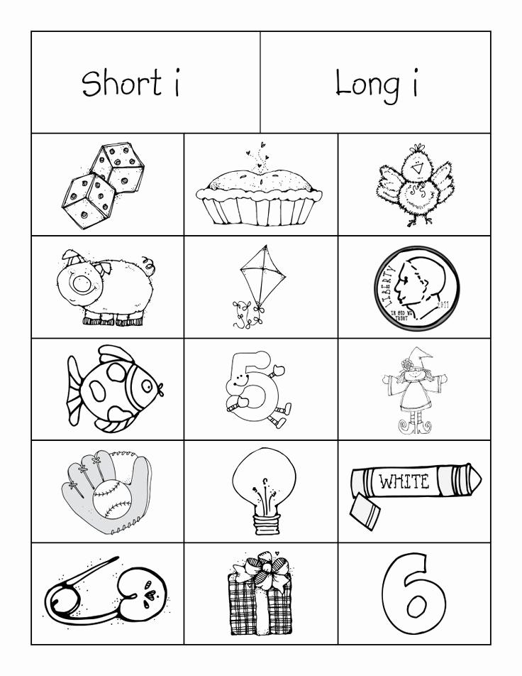 Long Vowel Worksheets Pdf Luxury Long Short Vowels sort Pdf
