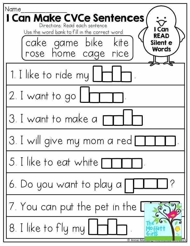 Long Vowel Worksheets Pdf Unique Pattern Worksheets for Grade 1 Pdf or Vce Pattern