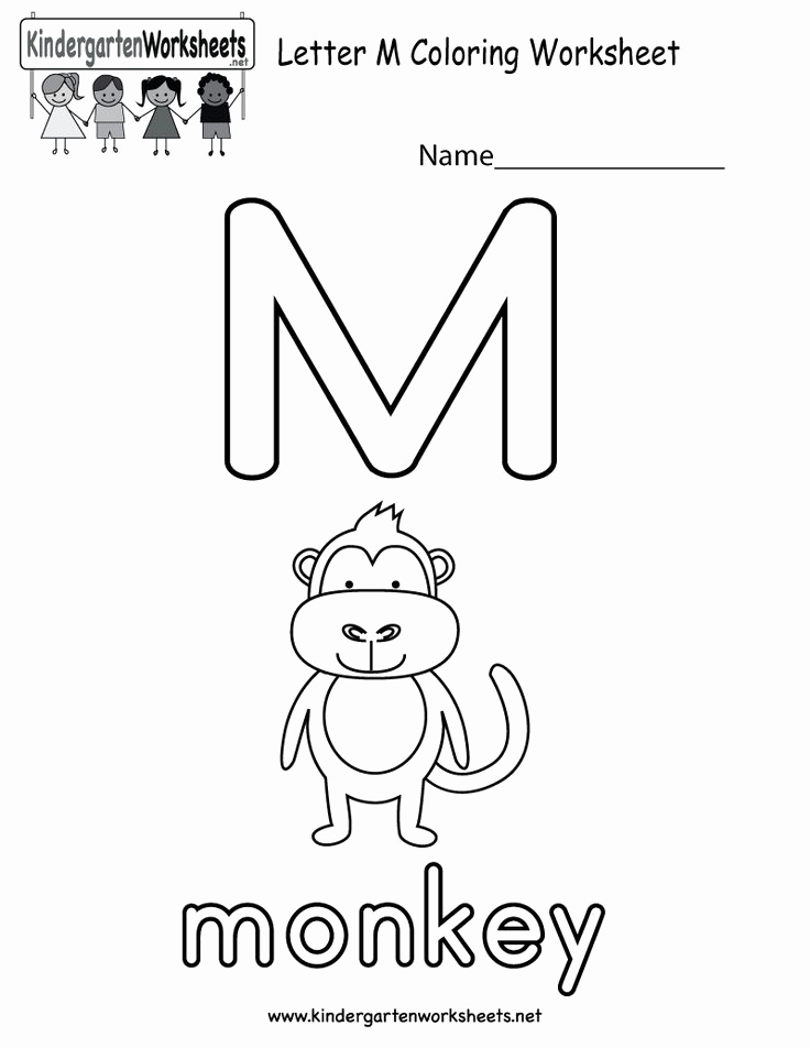 M Worksheets Preschool Best Of Pin On Alphabet Worksheets