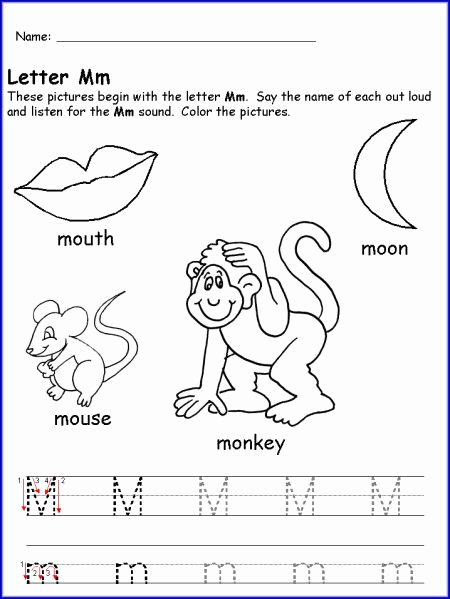 M Worksheets Preschool Lovely Pin by Jessica Eaton On Anniversary