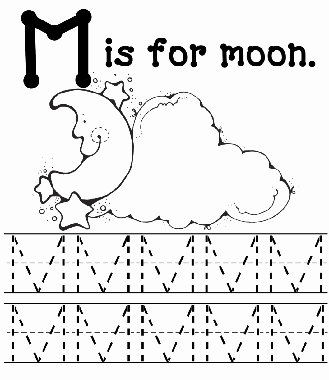 M Worksheets Preschool Luxury M is for Monsters Mommy School Packet