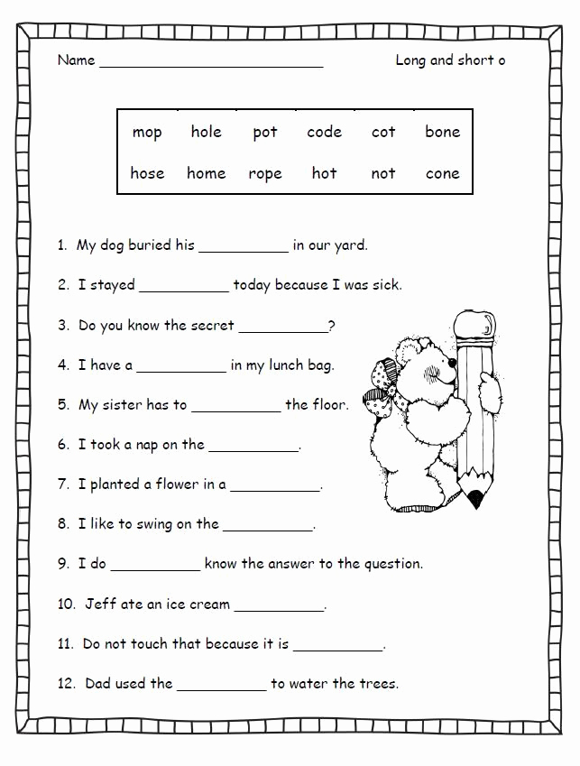Magic E Worksheets Free Best Of Silent E Worksheets for First Grade
