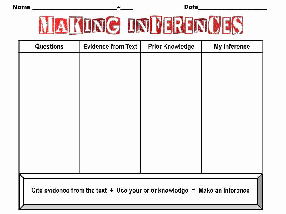 Making Inference Worksheets 4th Grade Fresh Making Inferences Worksheets