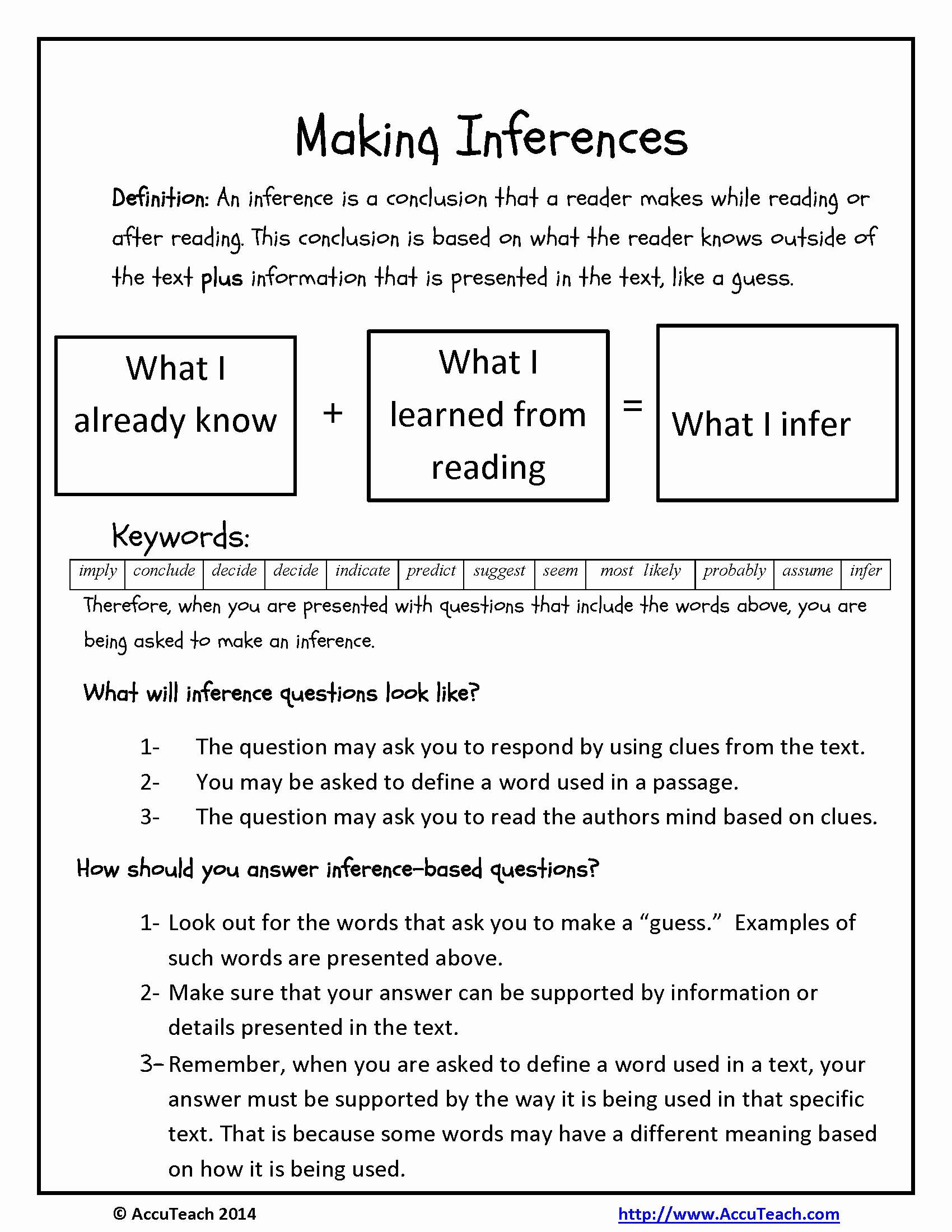 Making Inferences Worksheet 4th Grade Beautiful 20 Inference Worksheets 4th Grade