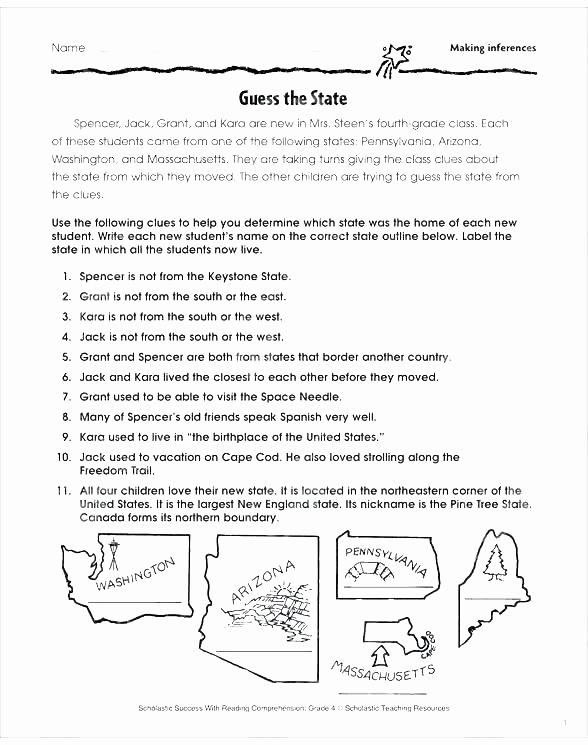 Making Inferences Worksheet 4th Grade Fresh 25 Making Inferences Worksheet 4th Grade