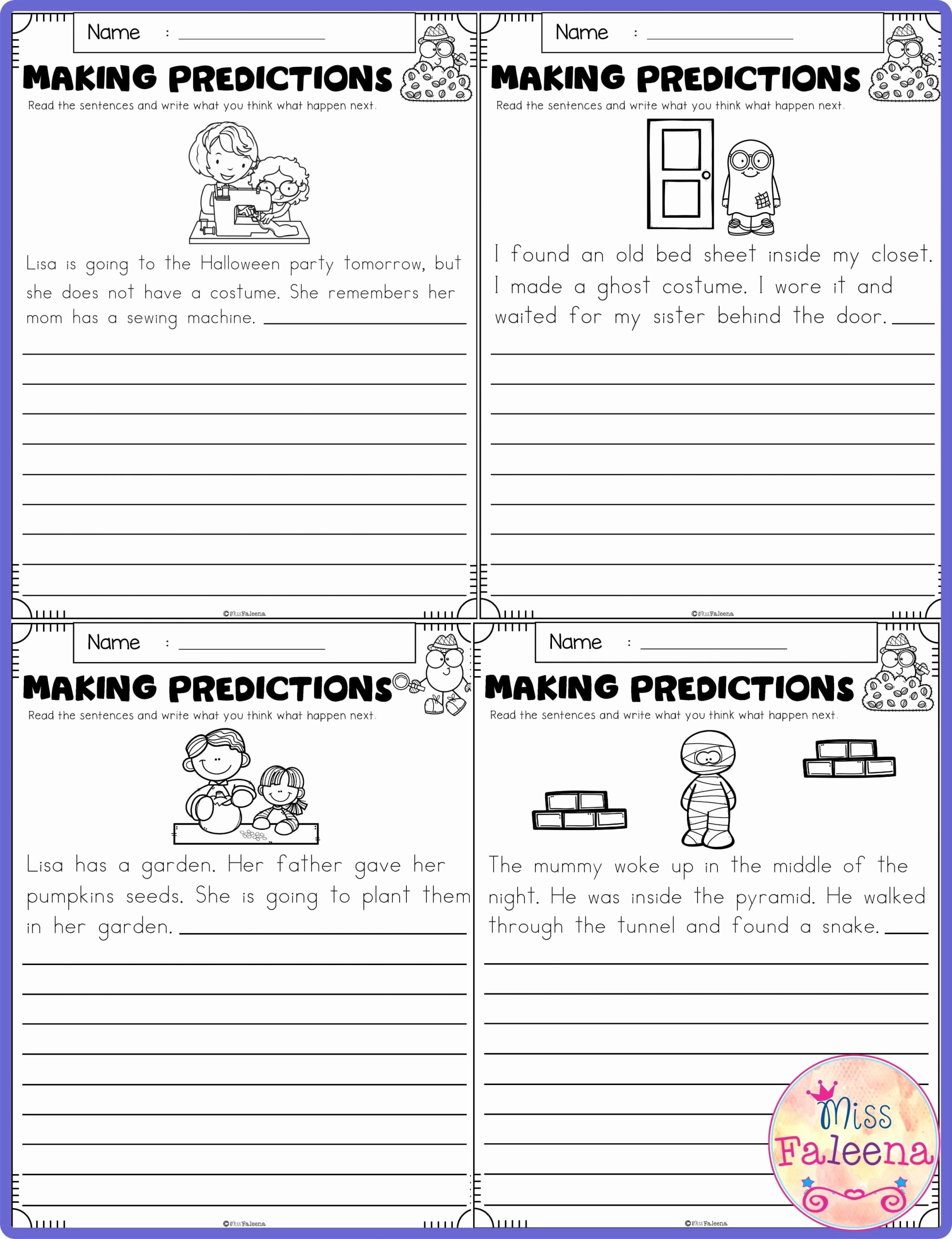 Making Predictions Worksheets 2nd Grade Best Of 20 Making Predictions Worksheet 2nd Grade
